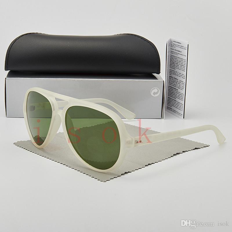 10pcs, qualité supérieure nouvelles lunettes de soleil de mode pour Homme Femme pilote Lunettes Designer Marque cadre pc Lunettes de soleil UV400 lentilles Boîte et les affaires