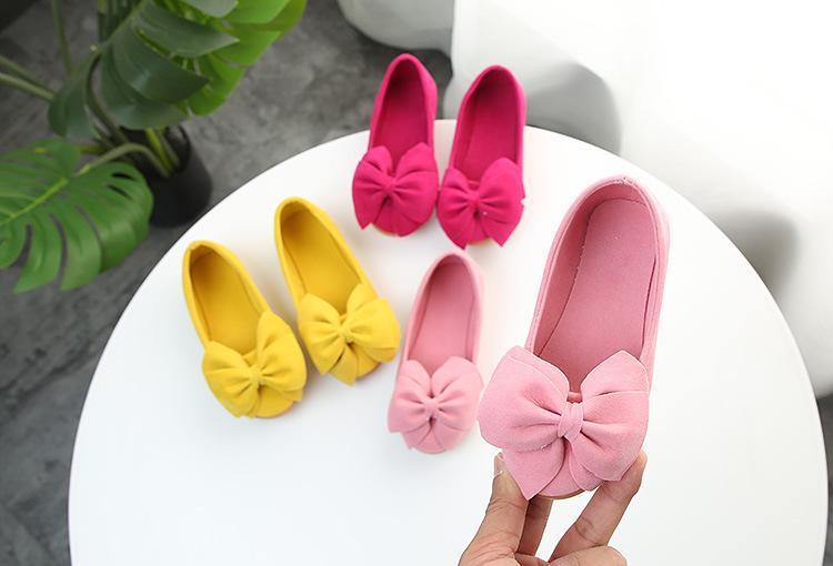 2020 Brand New Fashion Princess Дети танцевальная обувь Детская девушки платье партии обувь Квартира Дом Повседневный Single First ходунки Soft Слип-на