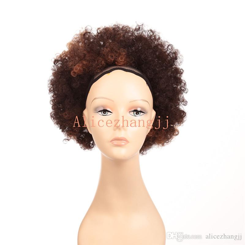 Coiffure de mariage cheveux court afro
