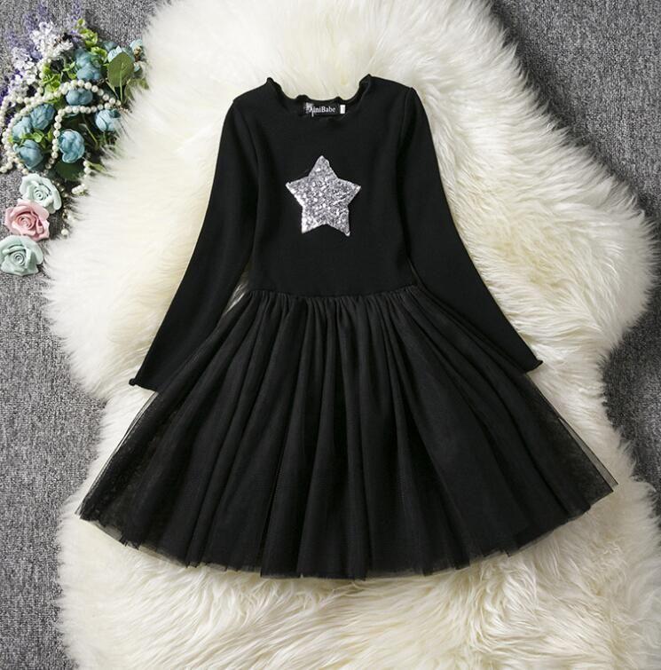 Corredo Super Star Design neonate vestito da partito del vestito per ragazze dei bambini vestiti tutu di compleanno 2-6 anni