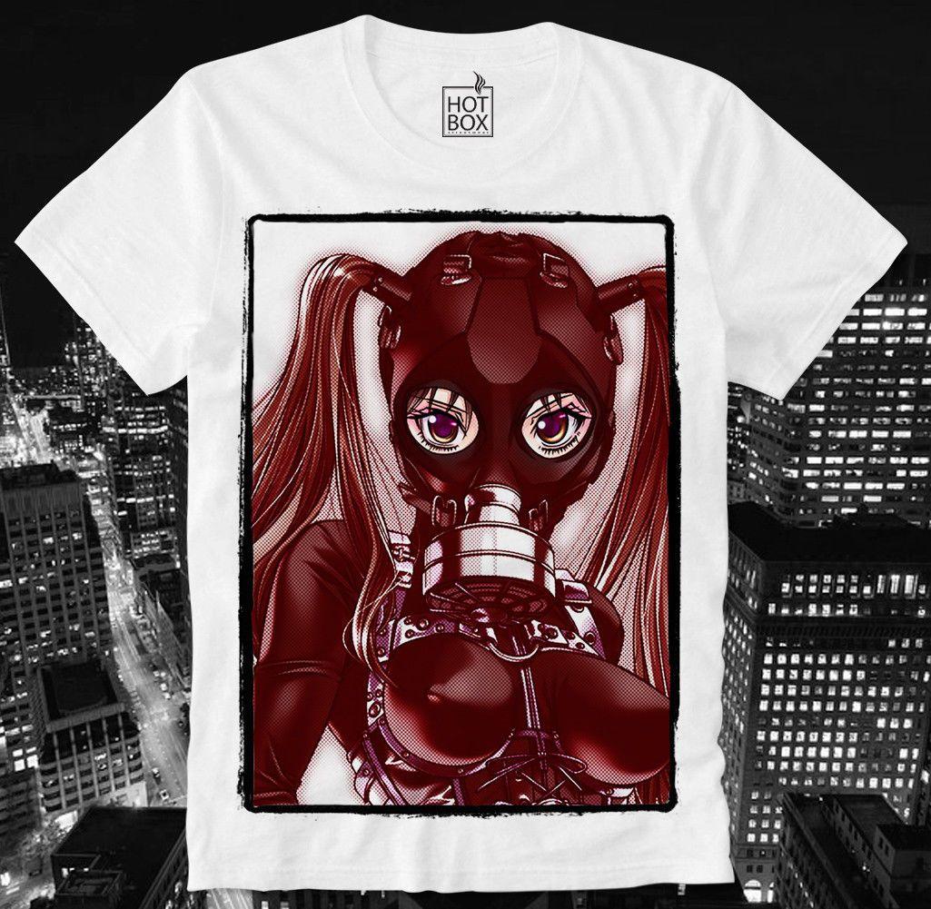 Free Japanese Hentai Porn hotbox t shirt anime manga hentai gas mask porn porno sexy girl bdsm sm  japan men women unisex fashion tshirt cool tee shirts cheap business tee