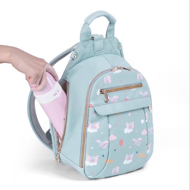 Bebek Nappy Çantalar Bezi Çanta Açık Mumya Çanta Sırt Çantası Seyahat Çantası Su geçirmez Çok Fonksiyonlu Baskı BFY034