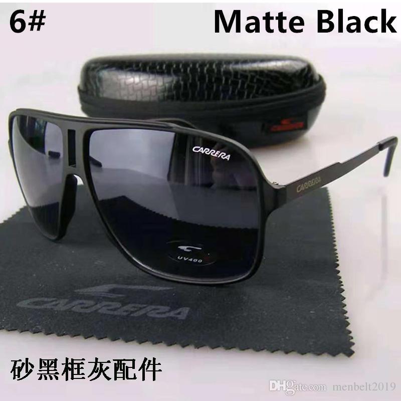 Orijinal Marka Tasarımcısı Moda Erkekler ve Kadınlar Güneş Gözlüğü UV400 Koruma Spor Bağbozumu Güneş gözlükleri Retro Gözlük Ile ücretsiz kutu ve kılıflar