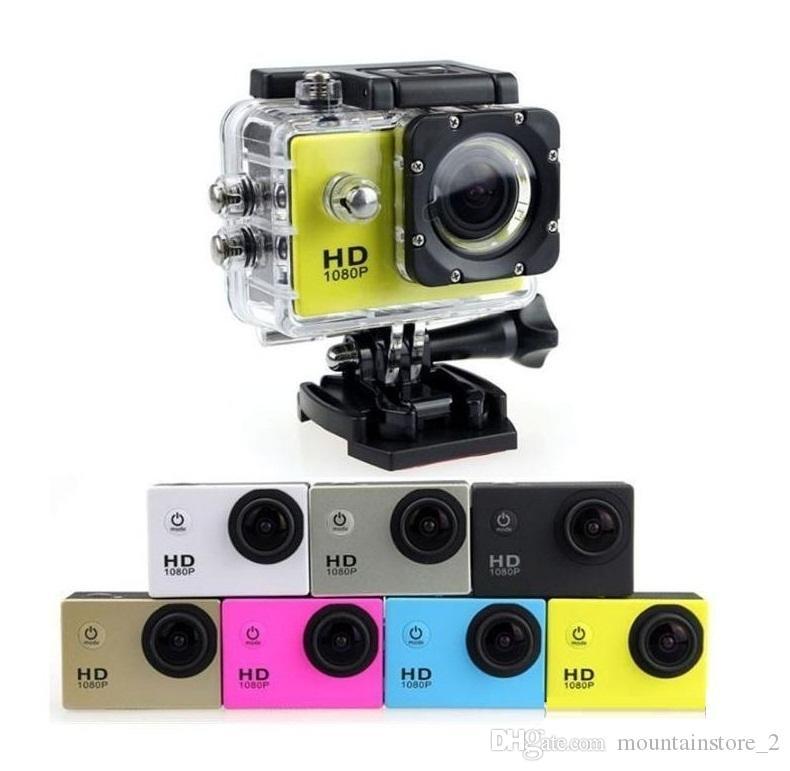 حار SJ4000 كامل HD عمل الكاميرا الرياضية الرقمية 2 بوصة وشاشة تحت ماء 30M DV تسجيل البسيطة التزلج دراجة صور فيديو كام (التجزئة)