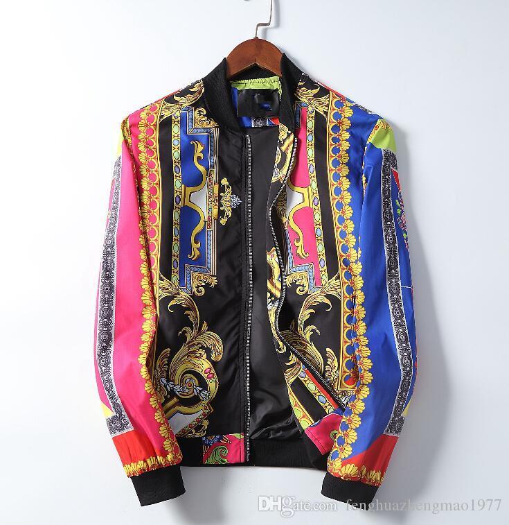 하이 엔드 국제 남자의 재킷 유행 재킷 서 칼라 거리 조수 의류 최고 품질 인기 모델