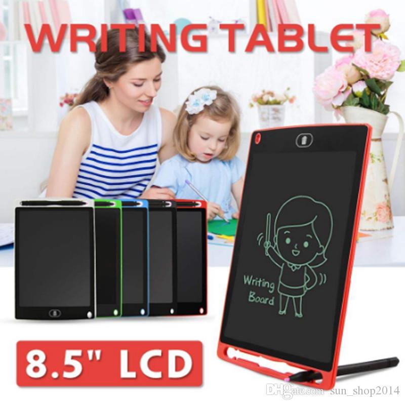 LCD Yazma Tablet Dijital Dijital Taşınabilir 8.5 Inç Çizim Tablet El Yazısı Pedleri Yetişkinler Çocuklar Çocuklar için Elektronik Tablet ...