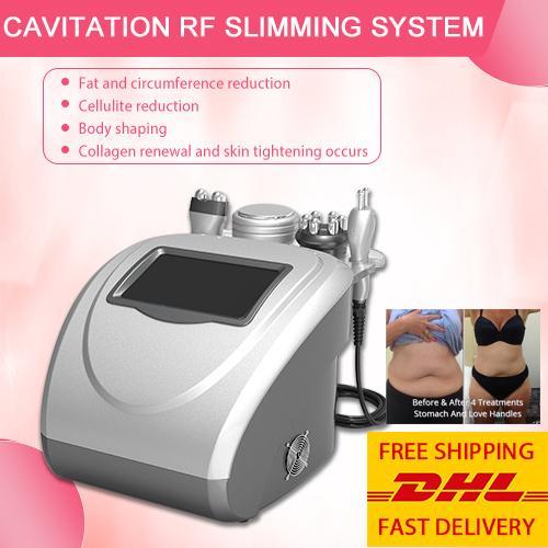 CE утвержденный ультразвуковой кавитации ультразвуковая кавитация RF тела уменьшая лазер LiPo тучная машина для домашнего использования