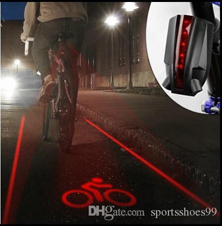 Bicicleta Gojiny Bicicleta Intermitente a Prueba de Agua Led Luz de Seguridad Trasera Ciclismo Advertencia Luces Traseras Traseras