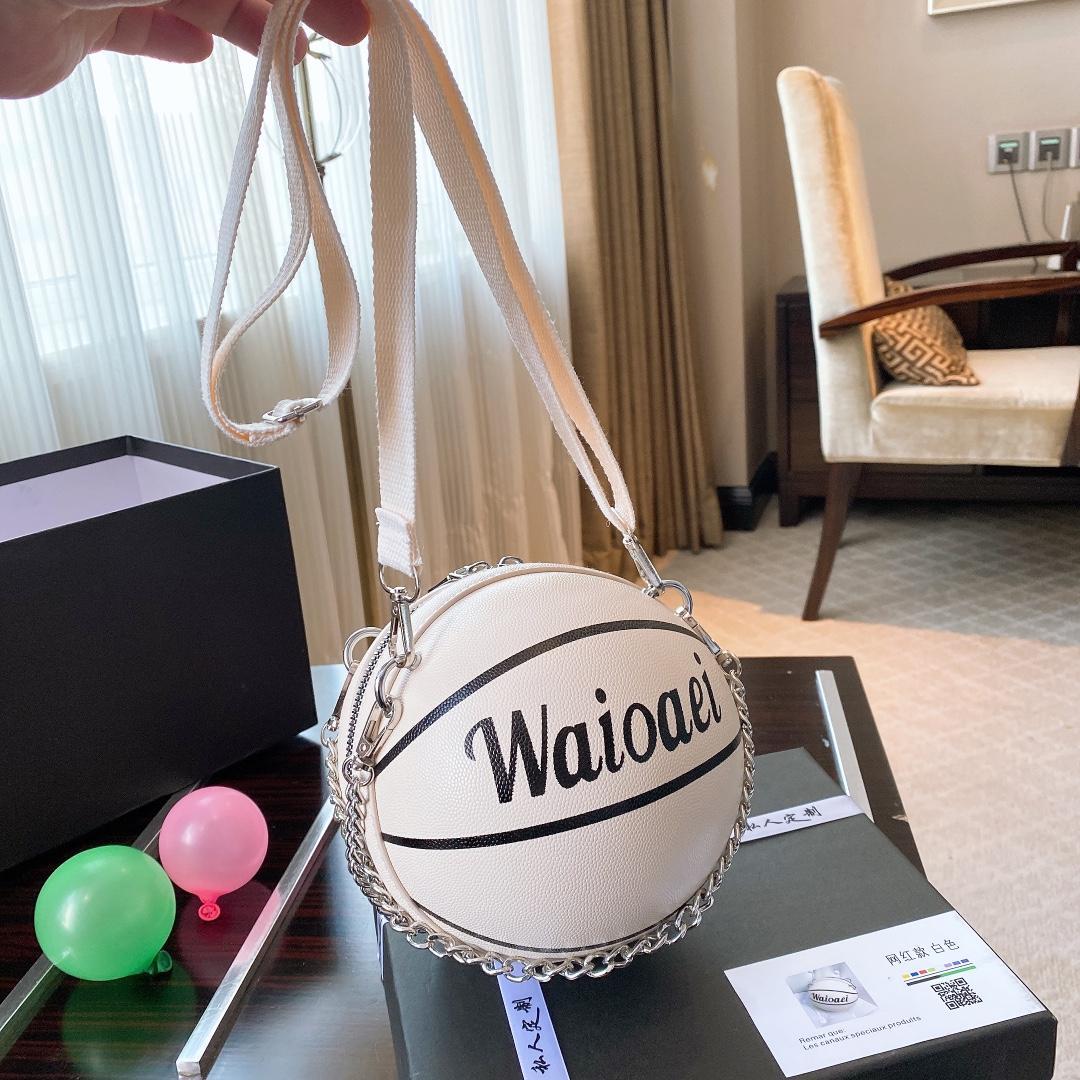 Rue Sac mignon épaule pour les femmes dames sac à bandoulière Mode sac de basket-ball 20061601X