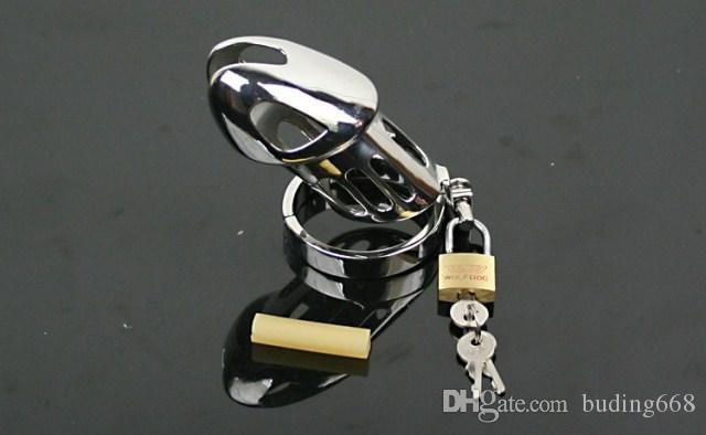 Acero Nueva castidad CB pequeña Llegada de acero inoxidable Castididad para dispositivos CAGE HOKXW