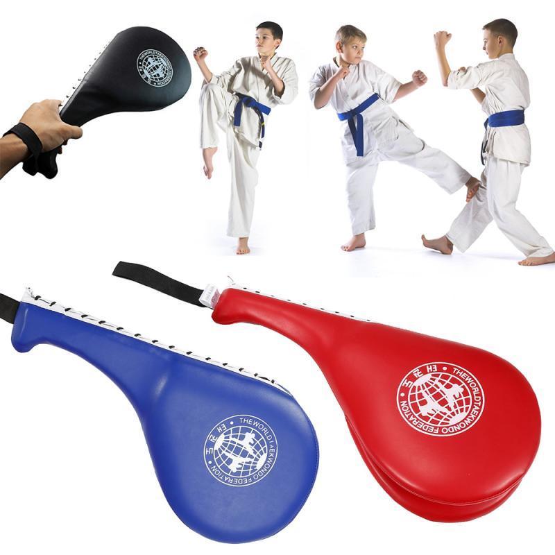 Boxing Pad Fitness Taekwondo Kicking Punching Pad PU Leather Training
