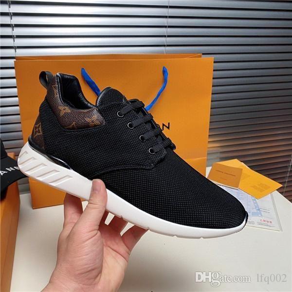новые мужские дизайнерские роскошные кроссовки повседневная обувь спортивная обувь плетение air star red bottom fashion 7427086 7390934 HT_2182 размер 39-45 с коробкой