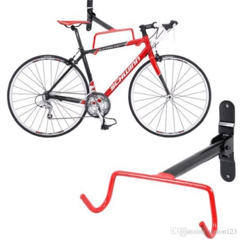 Wholesale Bicycle Compact Design Garage Wall Bike Mount Solid Steel Hook Holder Bike Wing Free Shipping