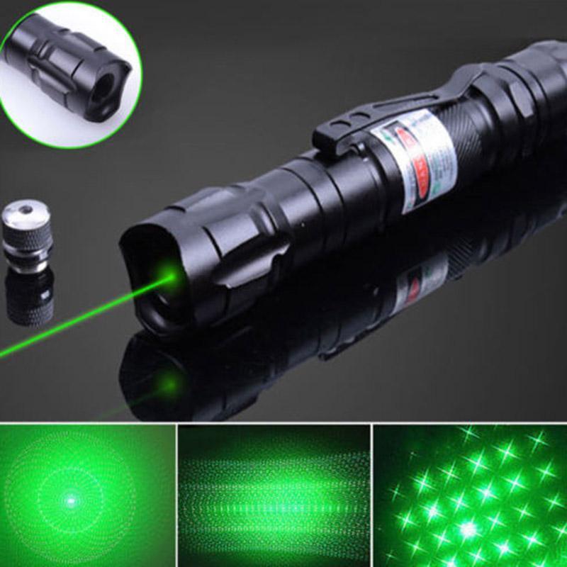 All'aperto escursionismo laser puntatore puntatore ad alta potenza verde blu rosso punto laser penna leggera potente