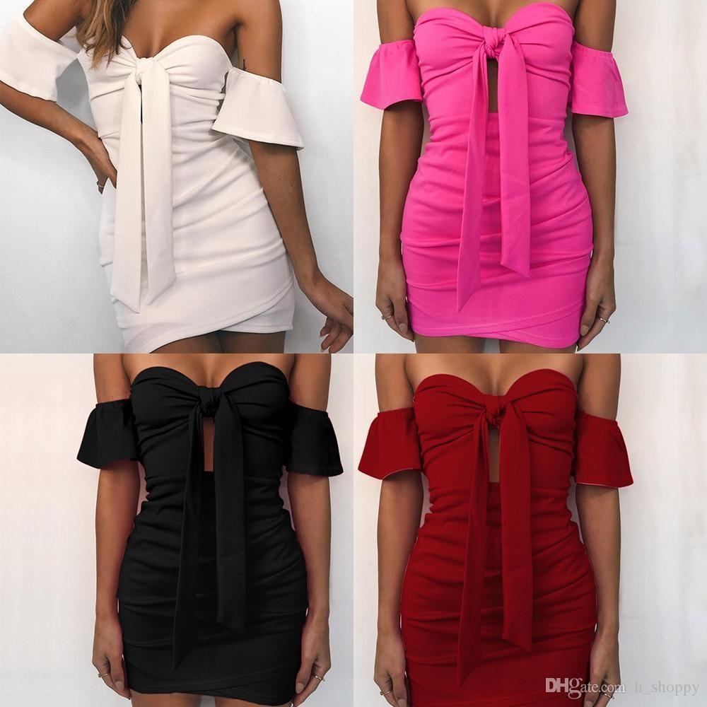 2020 primavera e l'estate nuovo stile americano di colore benda solido superiore del tubo del vestito alla moda europea e sexy bag