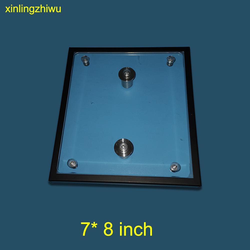 """Para Epson SureColor F2000 F2100 F2080 F2180 7 """"* 8"""" pulgadas pequeño cristal de exposición para la impresora DTG para la impresión camisa del bebé T"""