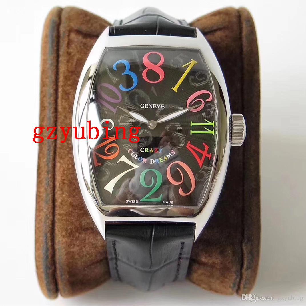 Лучшие ЧАСЫ качества Наручные часы CRAZY 8880 Механическая Автоматическая нержавеющей стали Мужские Мужские Женские Женские Наручные часы