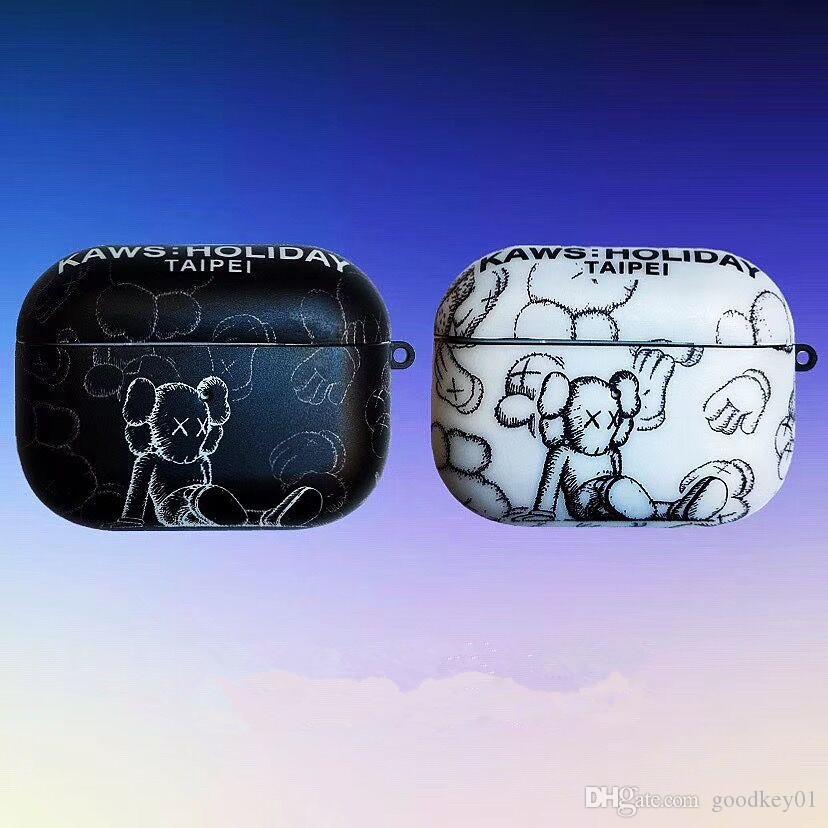 Para airpods caso airpods pro funda de silicona de dibujos animados Luffy Chopper Auriculares Casos para Apple Airpods3 TPU suave cubierta de la caja del INS