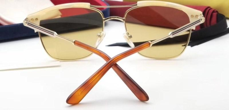 Großhandel-Sonnenbrille für Frauen Designer Fashion Square Sommer Stil Rechteck Vollformat Top-Qualität UV-Schutz Objektiv kommen mit Fall