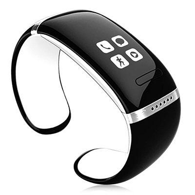 L12S Smart-Armband OLED Bluetooth Passometer-verlorene Smart Watch Unterstützt Telefon aufrufen Pedometer Smart-Armbanduhr für IOS Android iPhone