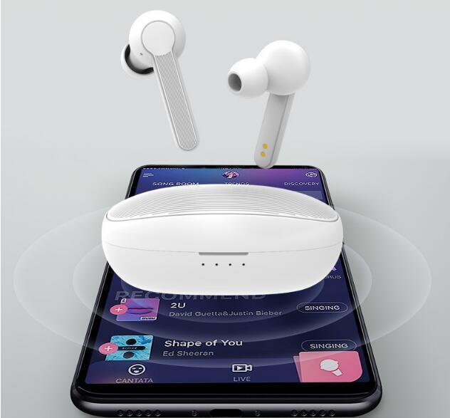 Ху-7 СПЦ Bluetooth Беспроводной зарядки сенсорного управления Siri беспроводные наушники Наушники Наушники для iPhone samsung тура против 3 х С10 завод ОСН