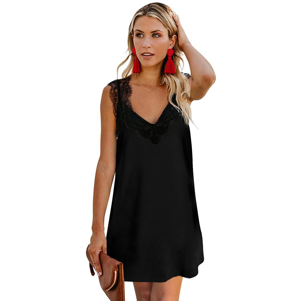 Сексуальные женщины платья лета рукавов вечер Party Club Короткое мини-платье 2020 Мода женщин Одежда SY221196