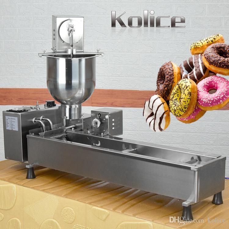 كوليس دونات صنع آلة تجهيز الأغذية المعدات التلقائي الكعك القلي صانع
