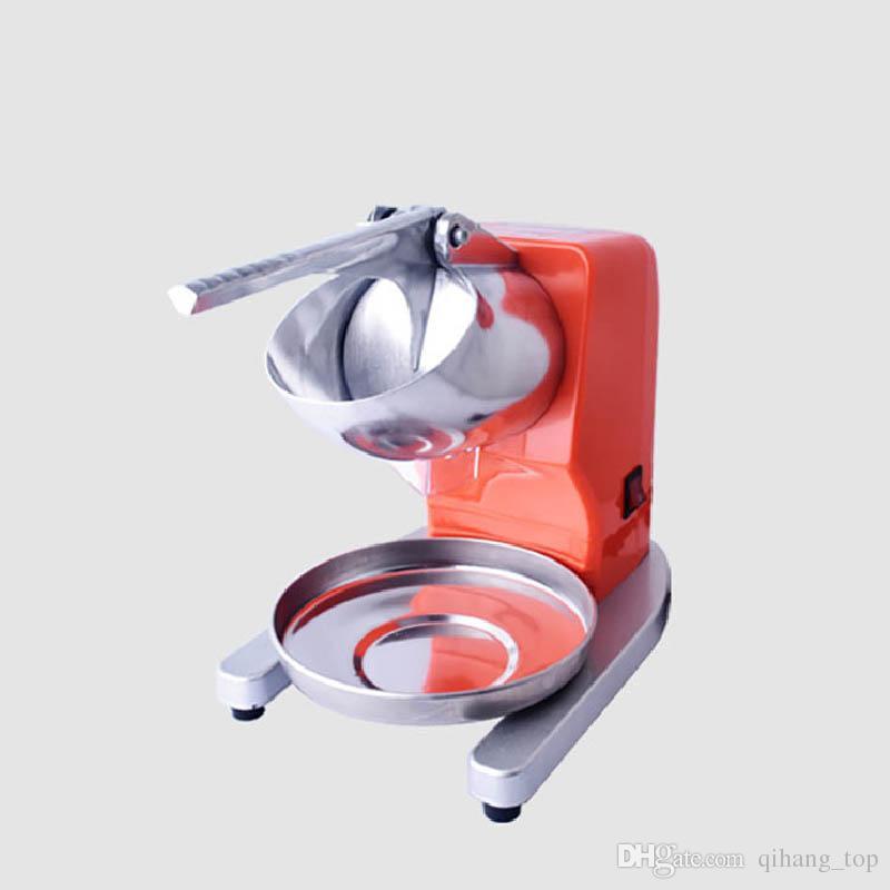 Qihang_top 2019 nouvelle machine de rasage à glace électrique bloc concasseur à glace utilisation commerciale portable machine à raser la glace prix