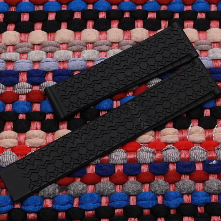 Applicable TAG ceinture silicone sport Hao Calella 20 mm montre en caoutchouc naturel avec des accessoires de sueur étanche 22