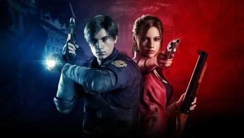 2020 Resident Evil 2 Remake Poster Video Game Wall Decor Art Silk Print Poster 2 From Lyshop007 13 26 Dhgate Com