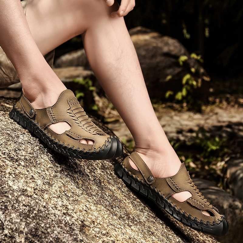 sandale pour le sport trekking plage Sandles vietnam sandales hommes casa en gladiateurs sandalia couro cuire de da cuir Sandales