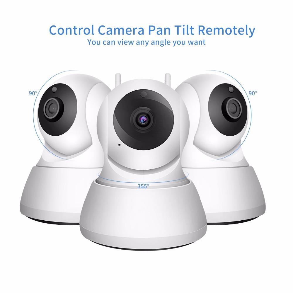Cámara IP de seguridad para el hogar Wi-Fi 1080p 720p Cámara de red inalámbrica CCTV Vigilancia de la cámara P2P Visión nocturna Monitor de bebé