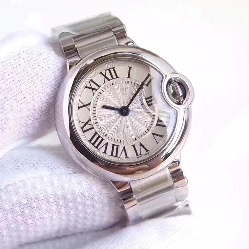 2019 Box New Mens orologi regalo Womens Watch superiore acciaio inossidabile 316L quarzo Classic Reloj Con orologio di lusso