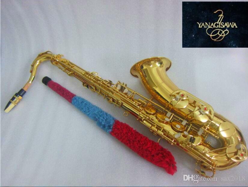 Новый тенор-саксофон B японский Yanagisawa T-902 B flat лакированный золотой музыкальный инструмент тенор-саксофон профессиональный с футляром