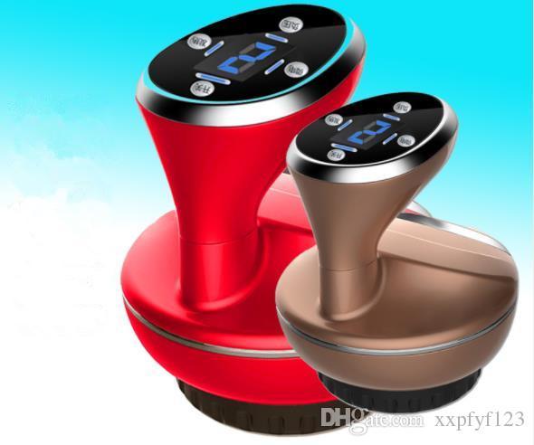 Rosto Massager Carregamento Gravitacional Mão Raspando Sucking Instrumento Elétrico Corpo Massagem Cupping Slimming Beauty Equipment CZ106