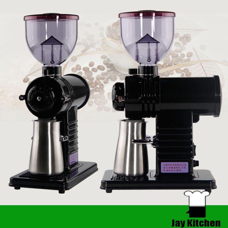 Ticari kahve değirmeni değirmeni elektrikli kahve çekirdeği değirmeni elektrikli kavrulmuş tahıl çekirdekleri taşlama makinesi kahve öğütme makinesi