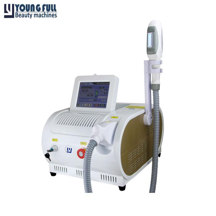 Portable SHR OPT Depilator Acne Treatment Vascular Removal Skincare Intensity Pulsed Light Hair Removal Salon Machine