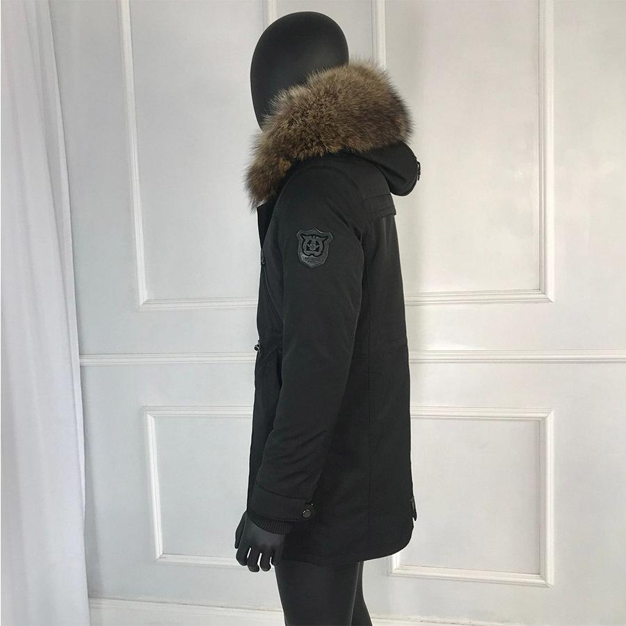 2020 Rabbit Coat For Man 2019 New Winter Warm Fashion Real Parkas Lining Raccoon Fur Collar Mens Parka With F MX200319 From Buyocean01, $278.03 |