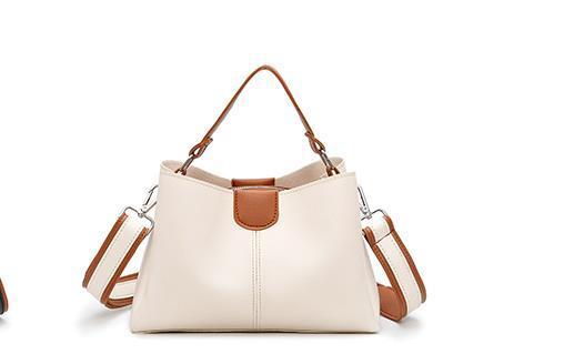 Cubo bolso femenino 2020 bolso Newset Coincidencia de colores simples salvaje bolsa de mensajero bolsos femeninos