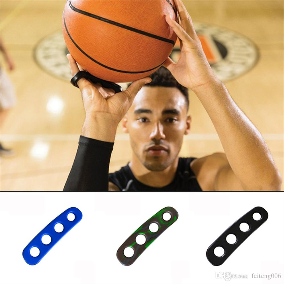 Silicone Gesticulation Shot Lock Basketball Ball Shooting Trainer Training Accessories Three-Point Size for Kids Adult Man Teens #15188