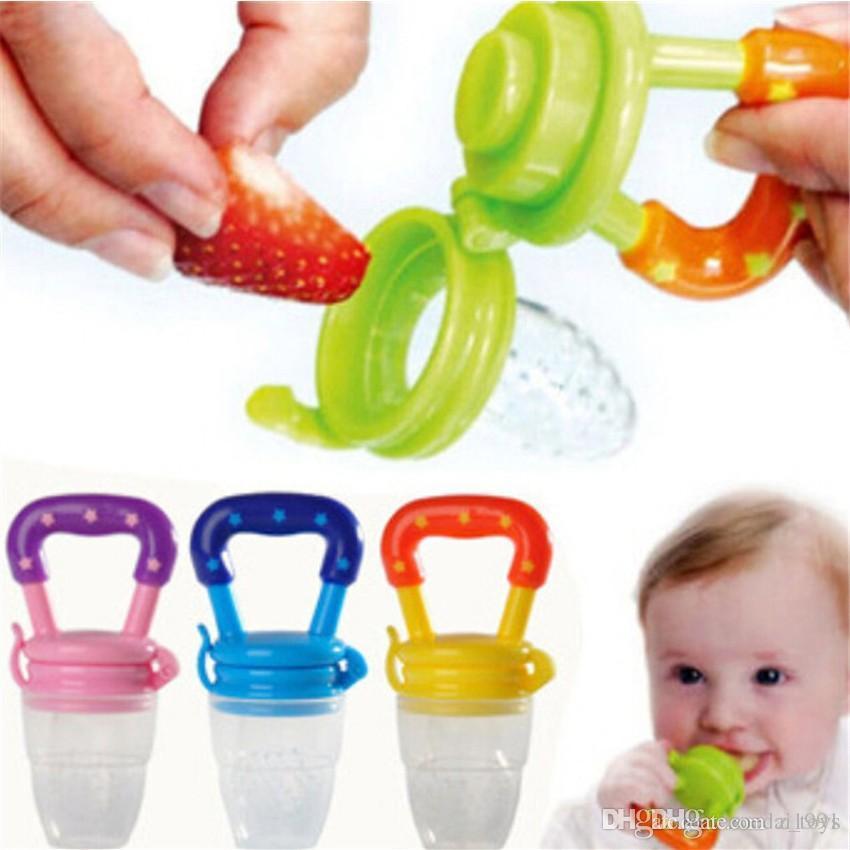 Chupeta divertido silicona bebé chupete alimentar a los niños de alimentación del Chupete pezón alimentador de herramientas Nibbler Niños Niñas Nibbler herramientas de velocidad con embalaje de la tarjeta