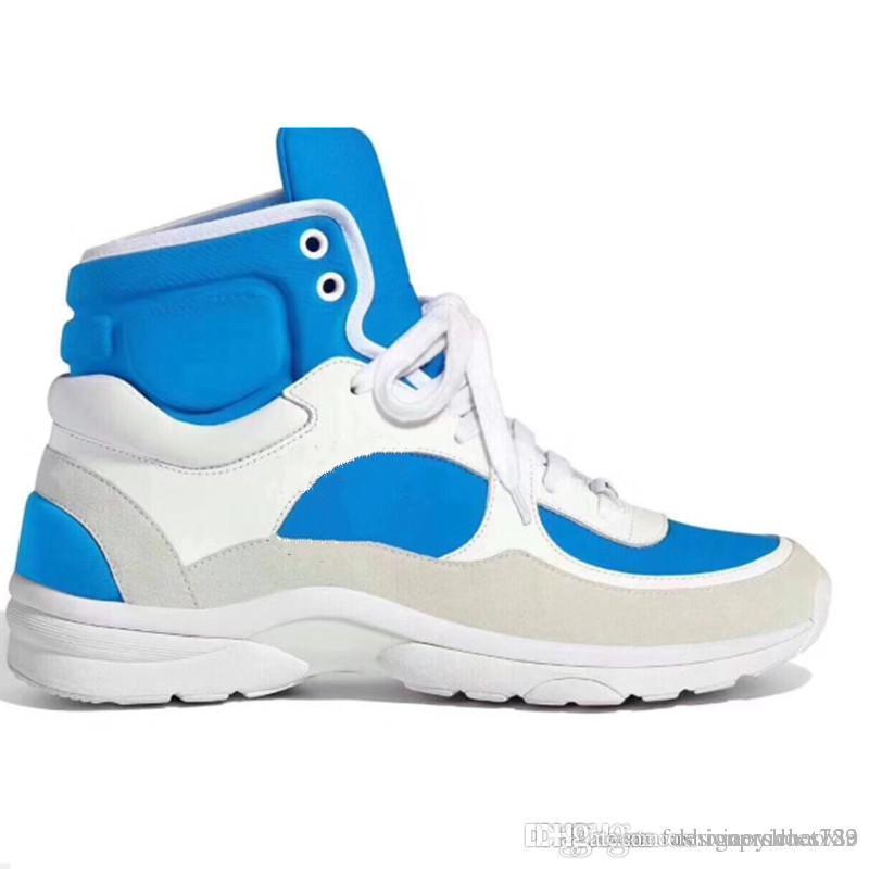Designer Sneakers Mode Luxusdesigner-Frauen-Schuhe Trainer und Fußballschuh Superstar Neuer Basketball-Schuh 2019 mit Kasten