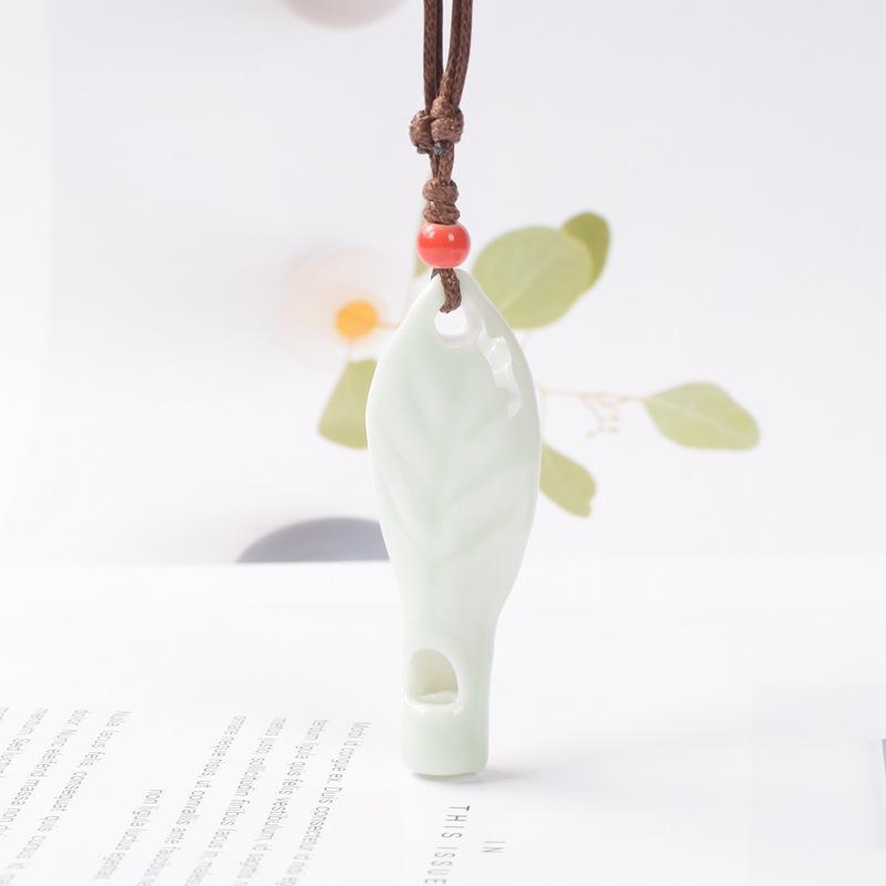 Ceramic necklace#22