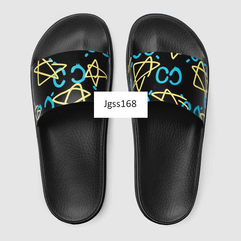 Con la caja superior de los hombres sandalias sandalias de diseño huaraches de verano zapatillas mocasines planos diapositivas de cuero de diseño Beach tamaño de los zapatos 43
