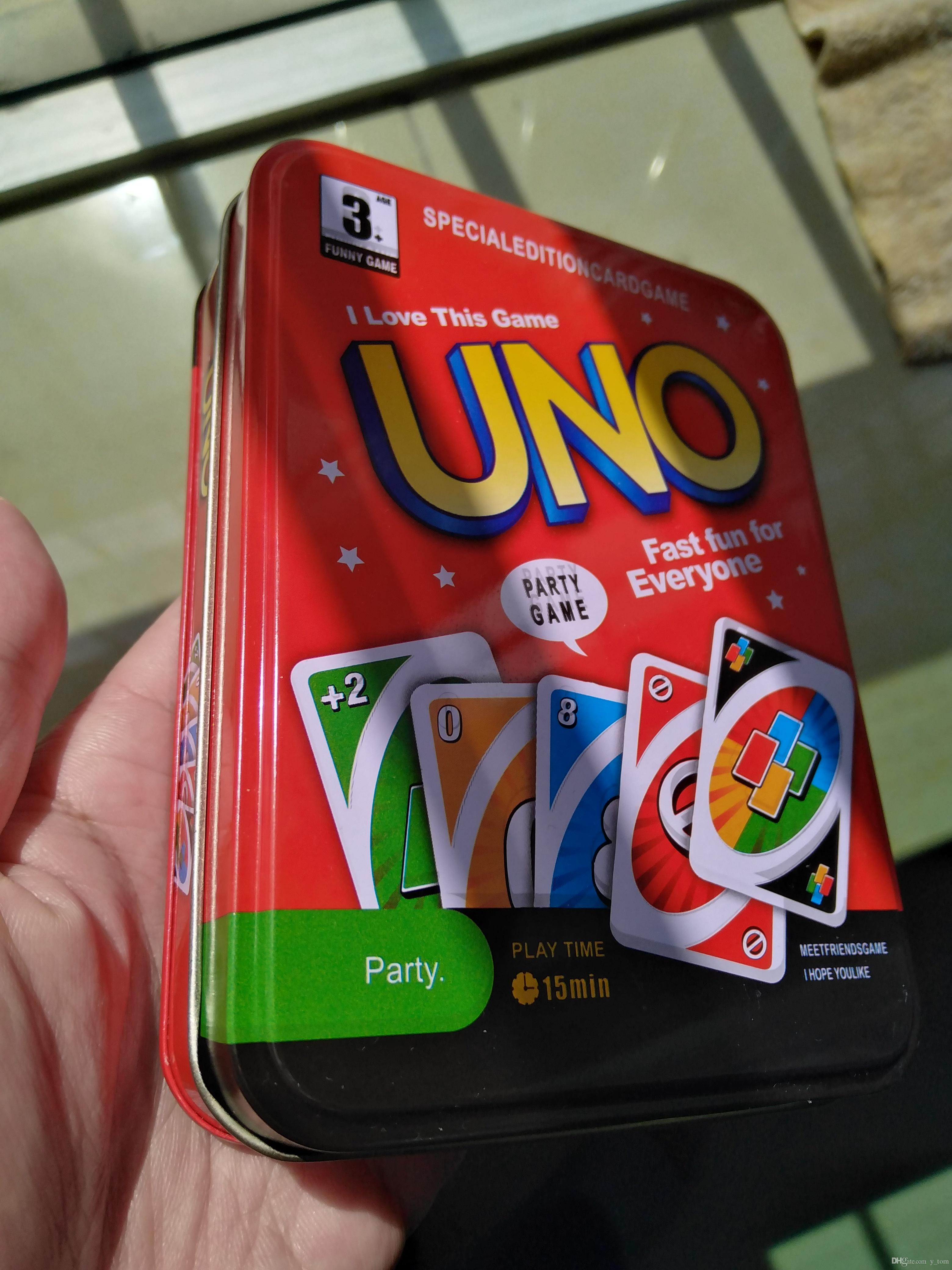 Party Family Games& Crafts UNO Card Games Family Party Game Card