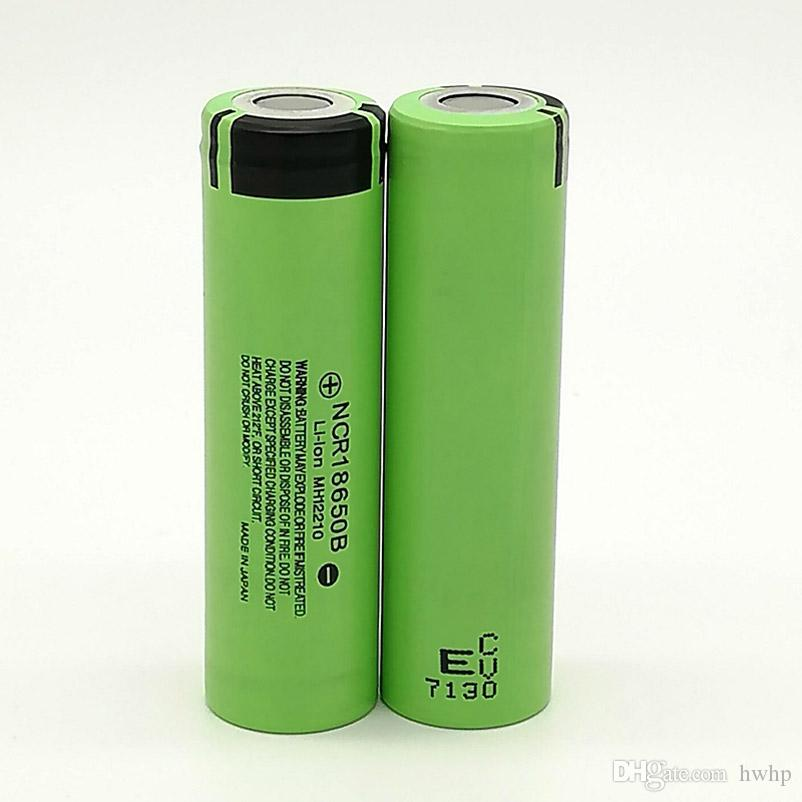 500pcs 100% High Quality NCR 18650 Battery 3400mAh IMR 3.7V for LG SONY Samsung Rechargable Lithium Batteries Cell