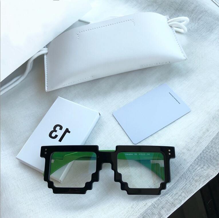 Lunettes de planches Oculos Myopie Nouveaux Femmes Lunettes Cadre Restauration des yeux Cadre Hommes Grau Cadres de cadre GM Anciens lunettes et IXIHP