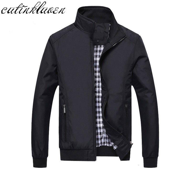 Novo 2017 Homens Jaqueta Moda Casual Solto Mens Jacket Sportswear Bomber Jacket Mens jaquetas homens e casacos Plus Size M- 5XL SH190904