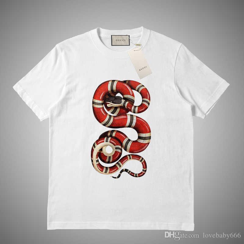 Sommer-neue Männer T-Shirt Männer und Frauen O Ansatz Qualitäts mit kurzen Ärmeln Mode Brief Printing Tops # 6515