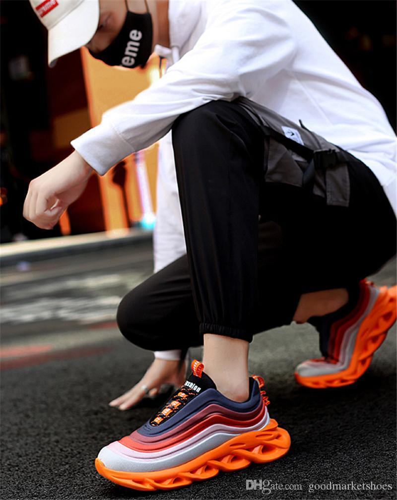 Hot Sale 2019 executando os fabricantes de sapatos S-modelos explosão nova primavera sapatos desportivos casuais tendência de sapatos masculinos transfronteiriça dos homens